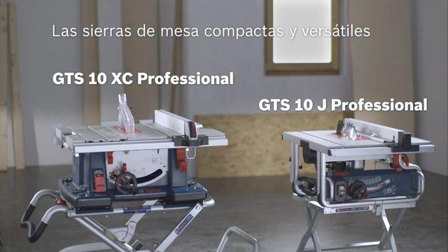 GTS 10 XC Professional Sierra circular de mesa Herramientas estacionarias | Bosch Professional