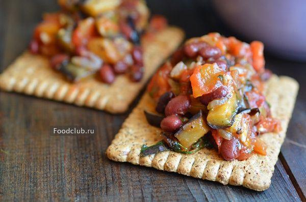 Баклажаны сфасолью http://amp.gs/TjkP  #рецепт #баклажаны #закуска