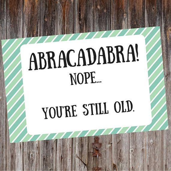 Sarcastic Birthday Card Hilarious Birthday Card by LanierDigital