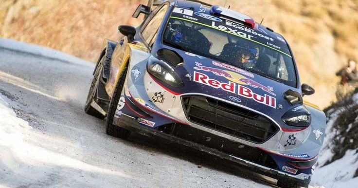 Ogier Starts Title Defense With Monte Carlo Rally Victory For Ford/M-Sport #Ford #Ford_Fiesta