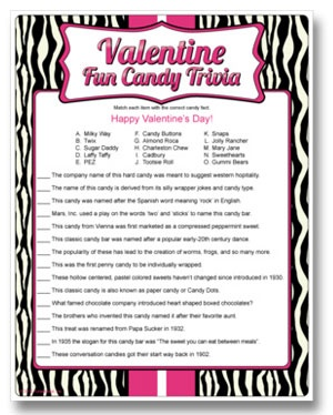 valentine trivia quiz questions and answers