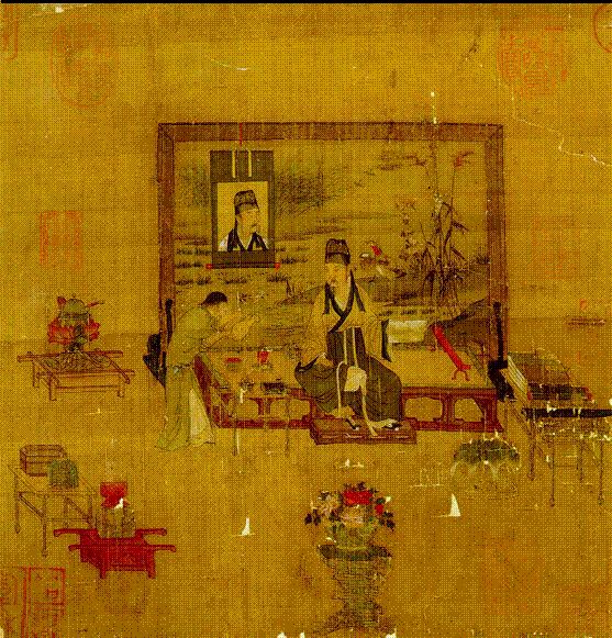 250 best ancient chinese silk paintings images on pinterest for Dynasty mural works