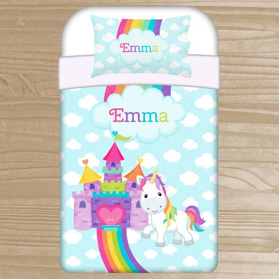 M s de 1000 ideas sobre ropa de cama de ni as en pinterest for Cama unicornio