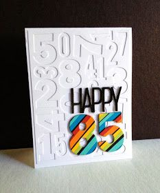 card scripty numbers number 85 years old Happy 85, Dad birthday