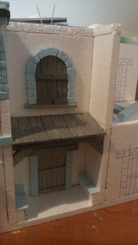 Nativity Scene Movement Forum - Current projects -> Houses under construction.