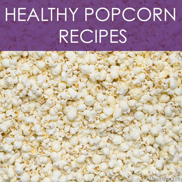 Healthy Popcorn Recipes make it a lot easier to enjoy popcorn & a movie guilt-free! #popcorn #recipes