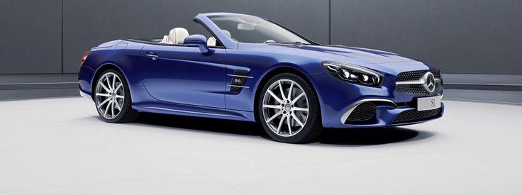"""Bei Mercedes-Benz können die beiden Roadster SL und SLC sechs Wochen vor Frühlingsanfang als """"Designo Edition"""" bzw. """"Red Art Edition"""" bestellt werden. Während beim SLC die Dynamik betont wird, lieg…"""