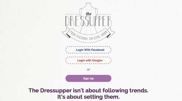 the dressupper è online! Innovativo camerino virtuale da oggi su www.thedressupper.com