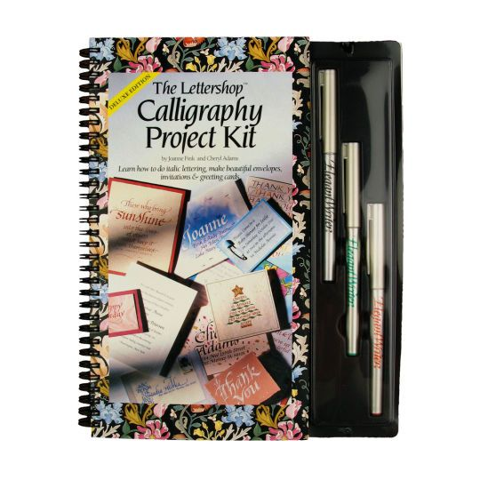 The lettershop calligraphy project kit beautiful
