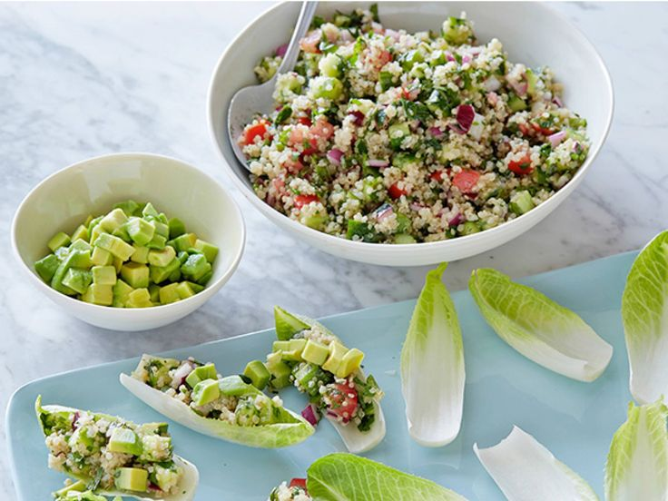 Quinoa Salad recipe from Food Network Specials via Food Network