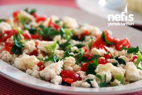 Kahvaltılık Peynir Salatası Tarifi