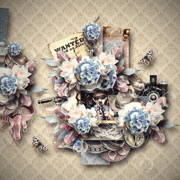 Western Wedding by Valentina Crea  template Dream Land freebie5 by Eudora Chen