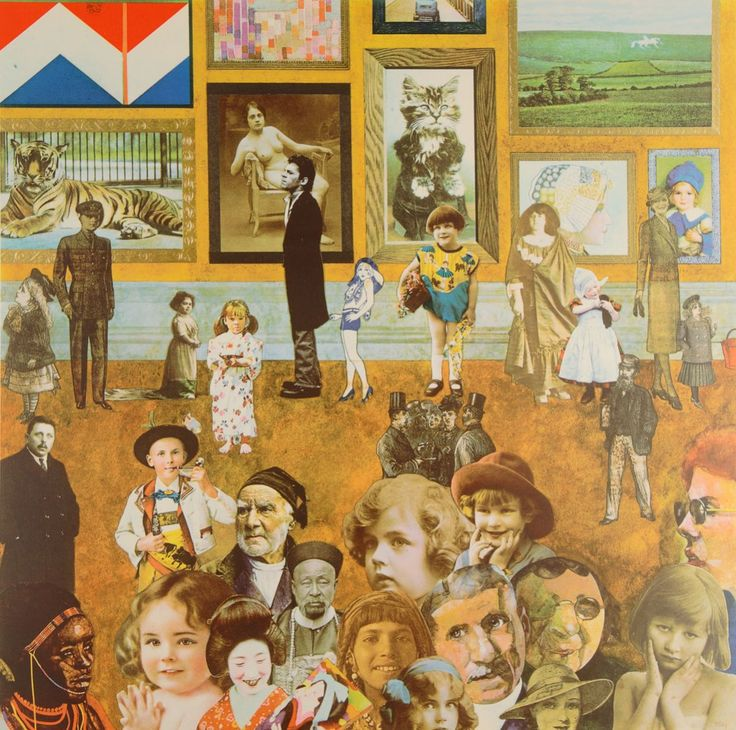 Academy Silkscreen Print by Sir Peter Blake