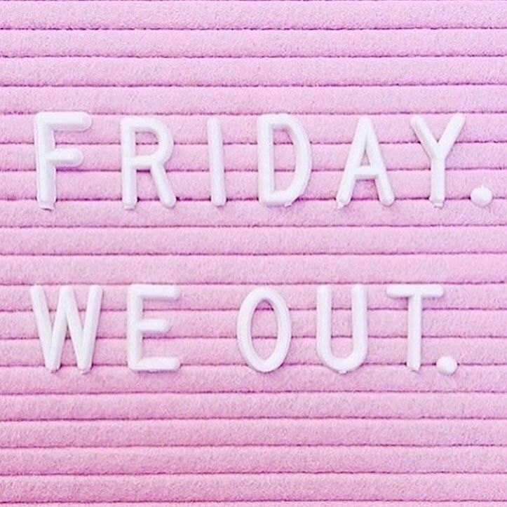 "Friday vibes I hope you have a replacing and restful weekend! repost from my girl @jasminehemsley  But really as a business owner are you ever ""out""/finished on Friday? #workontheweekends..."