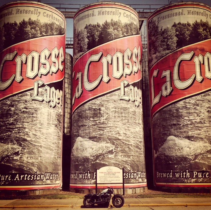 Worlds largest Beer Cans. La Crosse, WI.