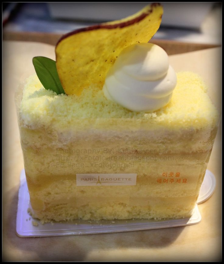 paris baguette cake  | try their cakes! Their cakes are soft and contains real fruit and very ...