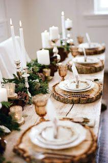 """Милые сердцу штучки: Новогодний декор: """"И еще несколько слов о сервировке стола"""""""