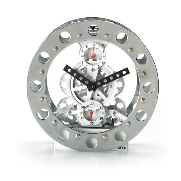 Invotis clock - Gear Alarm Clock White available at House of Music, Mansourieh main Road, Metn - Lebanon