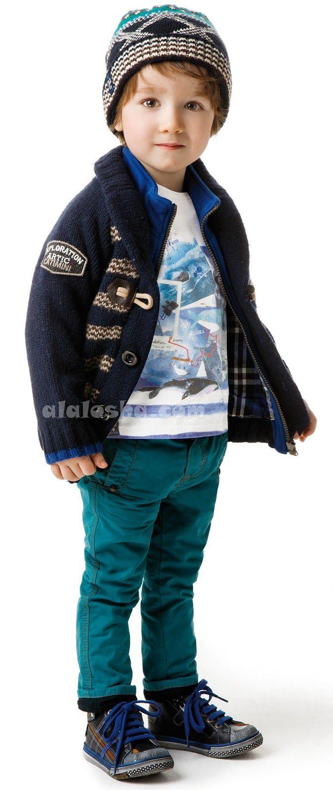 ALALOSHA: VOGUE ENFANTS: CATIMINI Mini Kid Garcon AW'14 collection