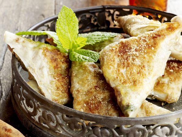 Briouat met lamsgehakt - Marokkaans hapje of lunch - Libelle Lekker!