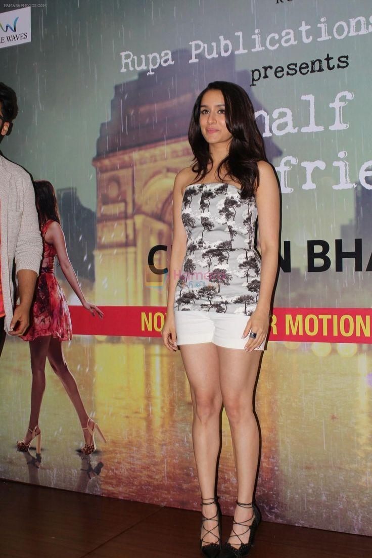 Shraddha Kapoor at The Book Launch Of Half Girlfriend on 8th May 2017 / Shraddha Kapoor - Bollywood Photos