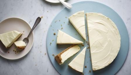 BBC Food - Recipes - White chocolate cheesecake