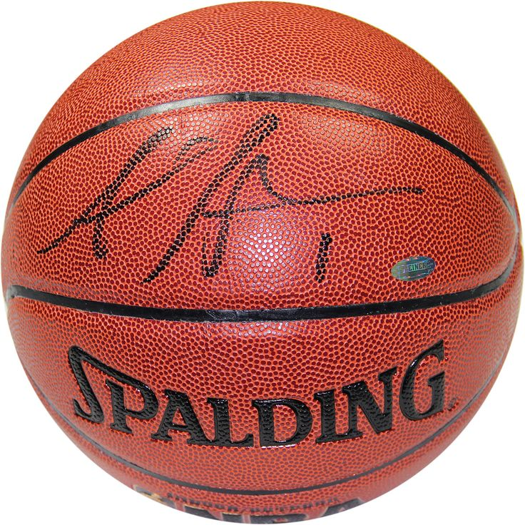 Amare Stoudemire Signed IO Basketball (Signed in Black) - Knicks star Amare Stoudemire has personally hand-signed this I/O basketball signed in black-Amare Stoudemire who for years was the standout power forward for the Phoenix S is now a New York Knick. Stoudemire The NBA Rookie of the Year in 2003 and a 6x NBA All Star came to New York and along with acquisitions Carmelo Anthony and Chauncey Billups rejuvenated one of the most famous franchises in NBA history helping them back to the…