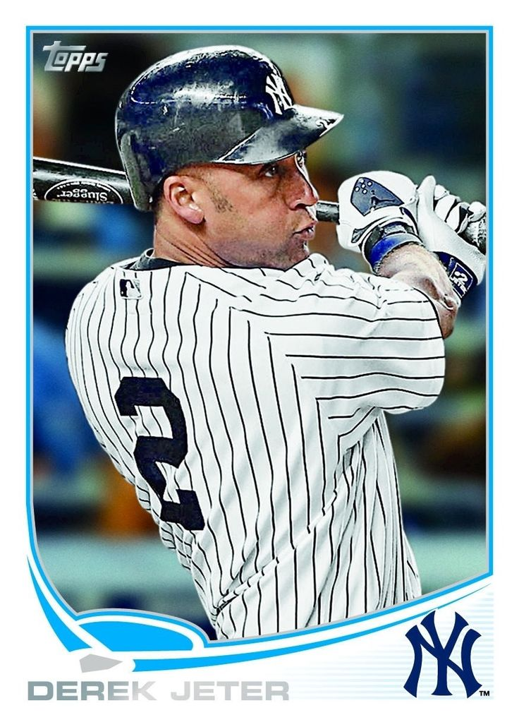 New York Yankees | 2013 Topps New York Yankees Team Checklist | My Baseball Card Blog
