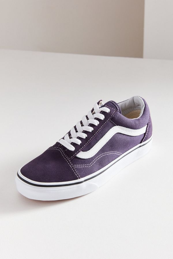 9a4b2f1b7a78ec Purple vans!! Vans classic low-top skate shoe