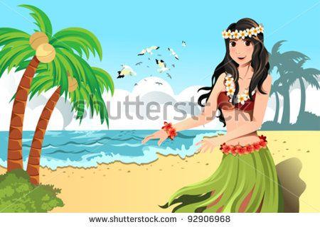 フラダンス 海 ストックイラストおよびカートゥーン | Shutterstock