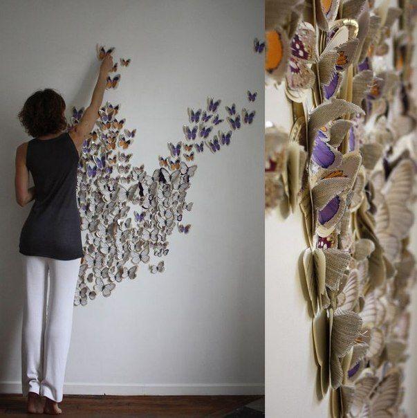 МАСТЕР КЛАСС: Бабочки - шаблоны