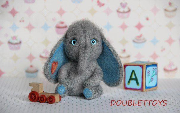 Авторские игрушки из шерсти     vk.com/doublettoys