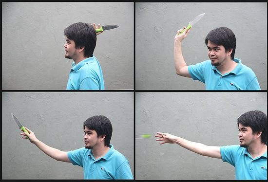 How to Throw a Knife Without It Spinning - If you're reading this, you probably already know how to throw a knife. Or you're just interested and think knife throwing is cool. Two methods for throwing a knife without spinning it are the Modified Hammer Grip and the Pinch Gr