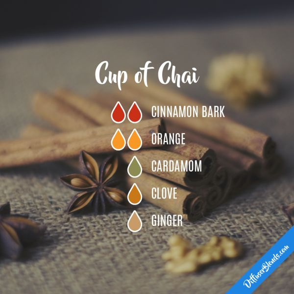 Cup of Chai - Essential Oil Diffuser Blend
