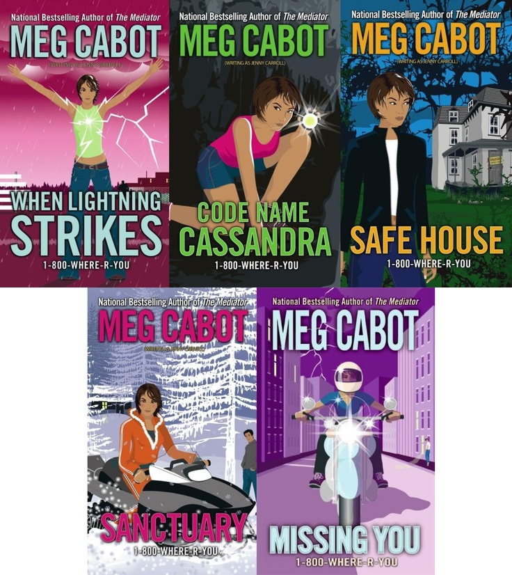 1-800-Where-R-You series by Meg Cabot.
