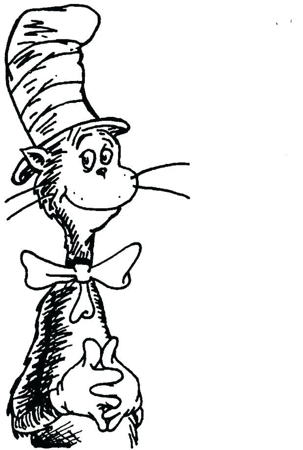 Dr Seuss Characters Coloring Pages Pktime Di 2020