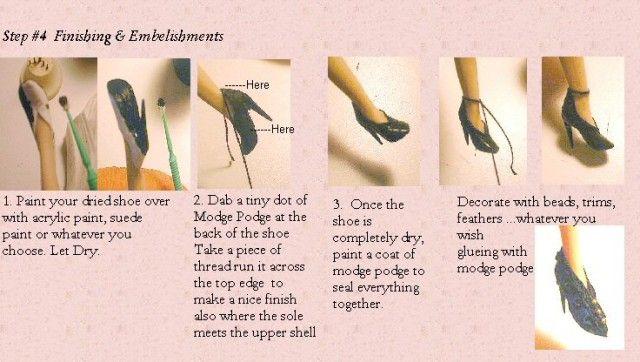 women's shoes Gisele's Miniature Creations