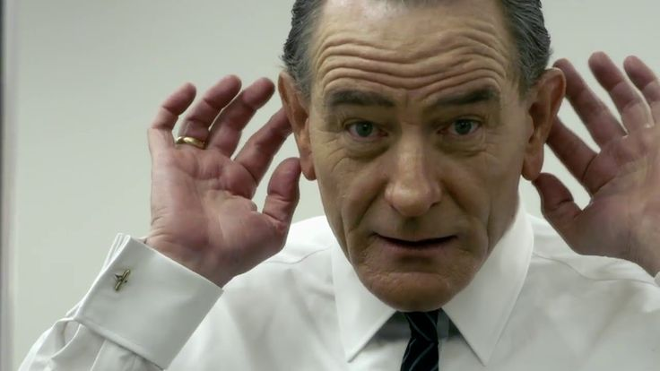 Bryan Cranston  -  Best Actor in a Limited Series or TV Movie:  All the Way.     All The Way: Bryan Cranston Transformation Featurette (HBO Films)