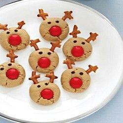 Reindeer blob cookies