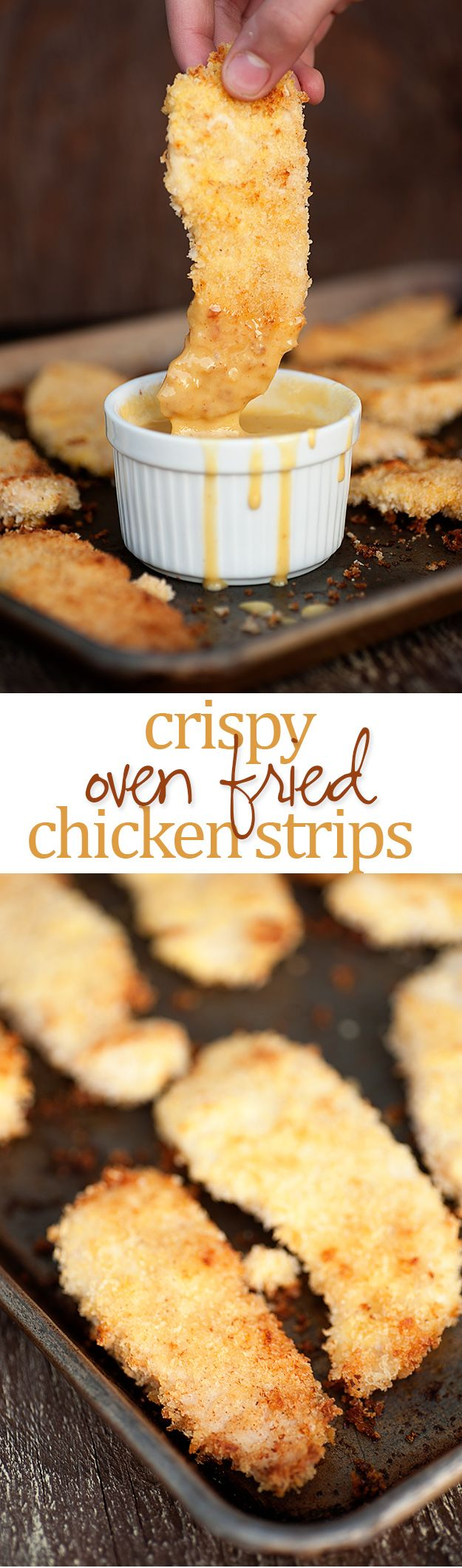 Oven Fried Chicken Strips Recipe