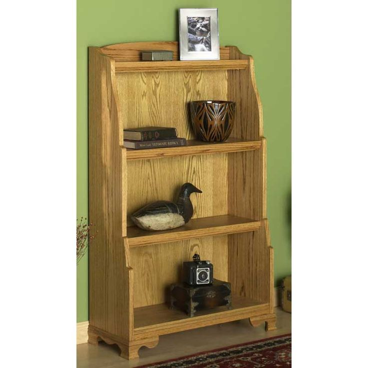 Solid Oak Bookcase Woodworking Plan from WOOD Magazine