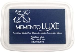 Memento Luxe NAUTICAL BLUE Ink Pad Tsukineko ML-607