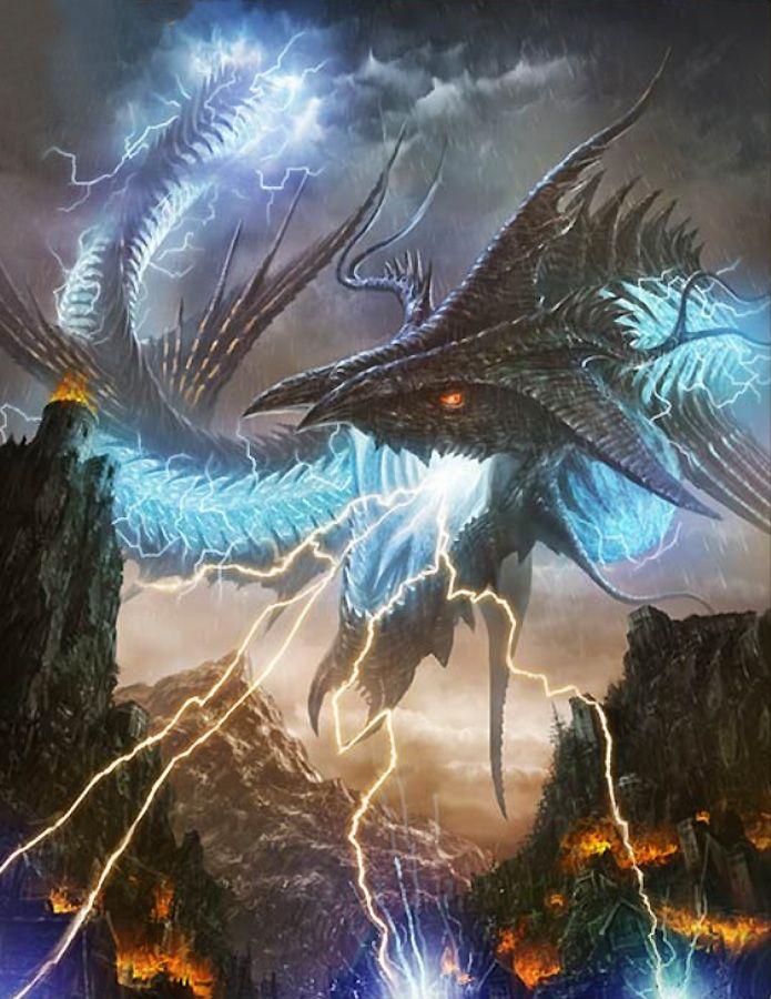 Cloud  El dragon del trueno y destrucción Poco se sabe mas que es enorme controla el trueno y nadie sobrevive a el  Peligro 14