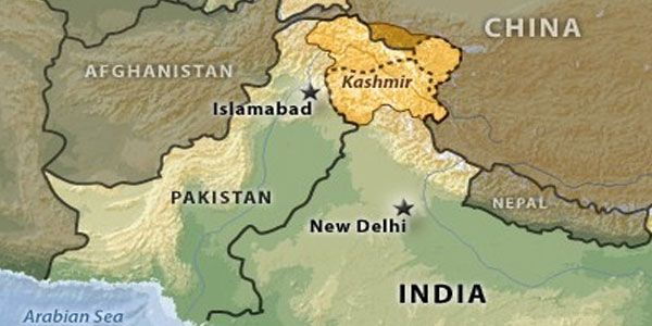 #Indian principal charged with sedition over #Kashmir map