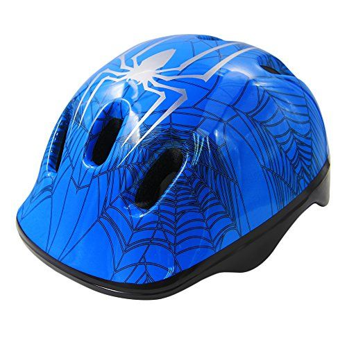 Toddler Bike Helmet MultiSport Lightweight Safety Helmets for Cycling SkateboardScooter Skate Inline Skating Rollerblading Protective Gear Suitable BoysGirls  38 Year OldBlue ** See this great product. (Note:Amazon affiliate link)