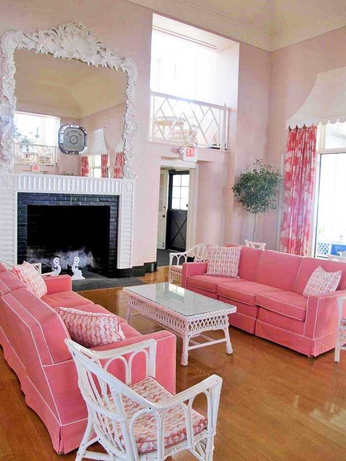 389 best images about Pink Living Rooms on PinterestPink walls