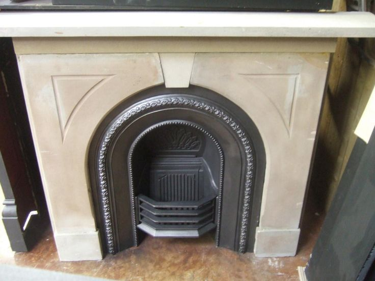 Reclaimed Original Victorian Stone Fireplace Surround