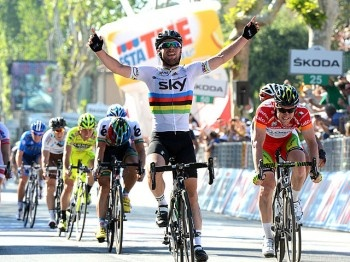 Another Win for Cavendish in Giro d'Italia Stage Five | Cycling | Sports | Epoch Times