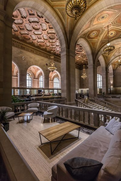 Historic Montreal Landmark Repurposed as Breathtaking Café - Eater Montreal