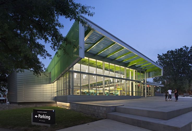 Anacostia Library / The Freelon Group Architects
